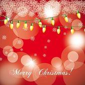 Christmas light — Stock Vector