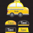 Taxi car — Stock Vector