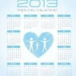 2013 calendar — Stock Vector #12210647
