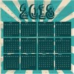 2013 calendar — Stock Vector #12210665