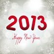 2013 new year - Stock Vector
