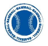 Baseball seal — Stock Vector