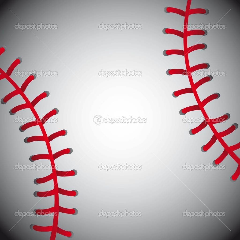 Baseball ball, texture background. vector illustration — Stock Vector #12210733