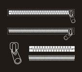 Zipper — Stock Vector