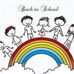 Back to school — Stock Vector #12350001