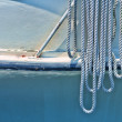 Sailing Boat Rope — Stock Photo