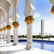 White Mosque in Abu Dhabi — Photo