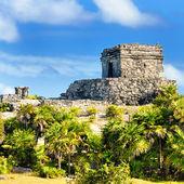 トゥルムにあるメキシコのマヤ遺跡 — ストック写真
