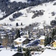 Stock Photo: Village of Megeve, French Alps