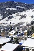 Megeve, fransız alps köyü — Stok fotoğraf