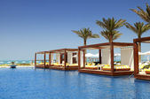 Luxe plaats resort — Stockfoto