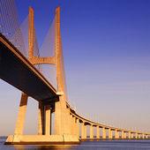 Vasco da gama most, lisabon, portugalsko — Stock fotografie