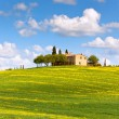 Stock Photo: Tuscfarmhouse