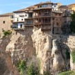 Las Casas Colgadas at Cuenca, Spain - Stock Photo