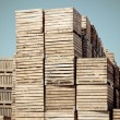 Crates vertical stacks — Stock Photo #11388641