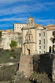 Cliff Houses of Cuenca, Spain — Stock Photo
