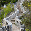 Old Stone Staircase - Stock Photo