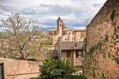 Old Urbino cityscape at dull day — Stock Photo