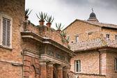 Botanical garden in Urbino, Italy — Stock Photo