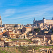 Old Toledo town view, Spain — Stock Photo