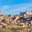 Old Toledo town view, Spain — Stock Photo #11955286