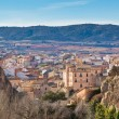 Spanish town in valley - 