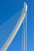 část moderní most — Stock fotografie