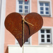 Heart in Fussen, Bavaria, Germany — Stock Photo