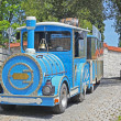 Royalty-Free Stock Photo: Funny train for tourists in Fussen, Bavaria, Germany