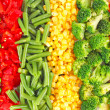 Mixed vegetables background — Stock Photo #10993416