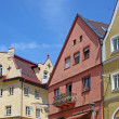 Beautiful colorful houses in Fussen, Bavaria, Germany — Stock Photo #11003756