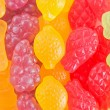 Royalty-Free Stock Photo: Fruit  gummy candies background