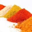 Spice mix on the white background — Stock Photo