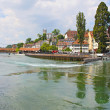 View of town on the river . Lucerne. Switzerland — Stock Photo #11244465