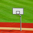 Royalty-Free Stock Photo: Outdoor basketball court