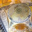 Interior of the Hagia Sophia in Istanbul, Turkey — Stock Photo #11562268