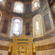 Interior of the Hagia Sophia in Istanbul, Turkey — Stock Photo #11562269