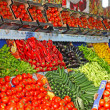 Fresh fruits and begetables taken in Istanbul, Turkey — Stock Photo