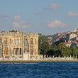 Kucuksu Pavilion built by Sultan Abdulmecit in Istanbul, 19th century. — Foto de Stock