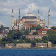 Istanbul Hagia Sophia sea view — Stock Photo