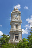 Dolmabahce palace tower in Istanbul — Stock Photo