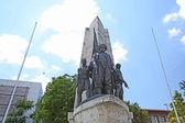 Barbrosa monument in Istanbul. Turkey — Stock Photo