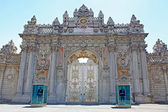 Dolmabahce Palace in Istanbul. Turkey. 2010. — Stock Photo