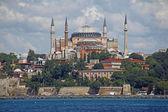 Istanbul Hagia Sophia sea view — Stock Photo