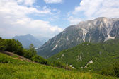 Beautiful mountains - landscape taken in Julian Alps,Italy — Stock Photo
