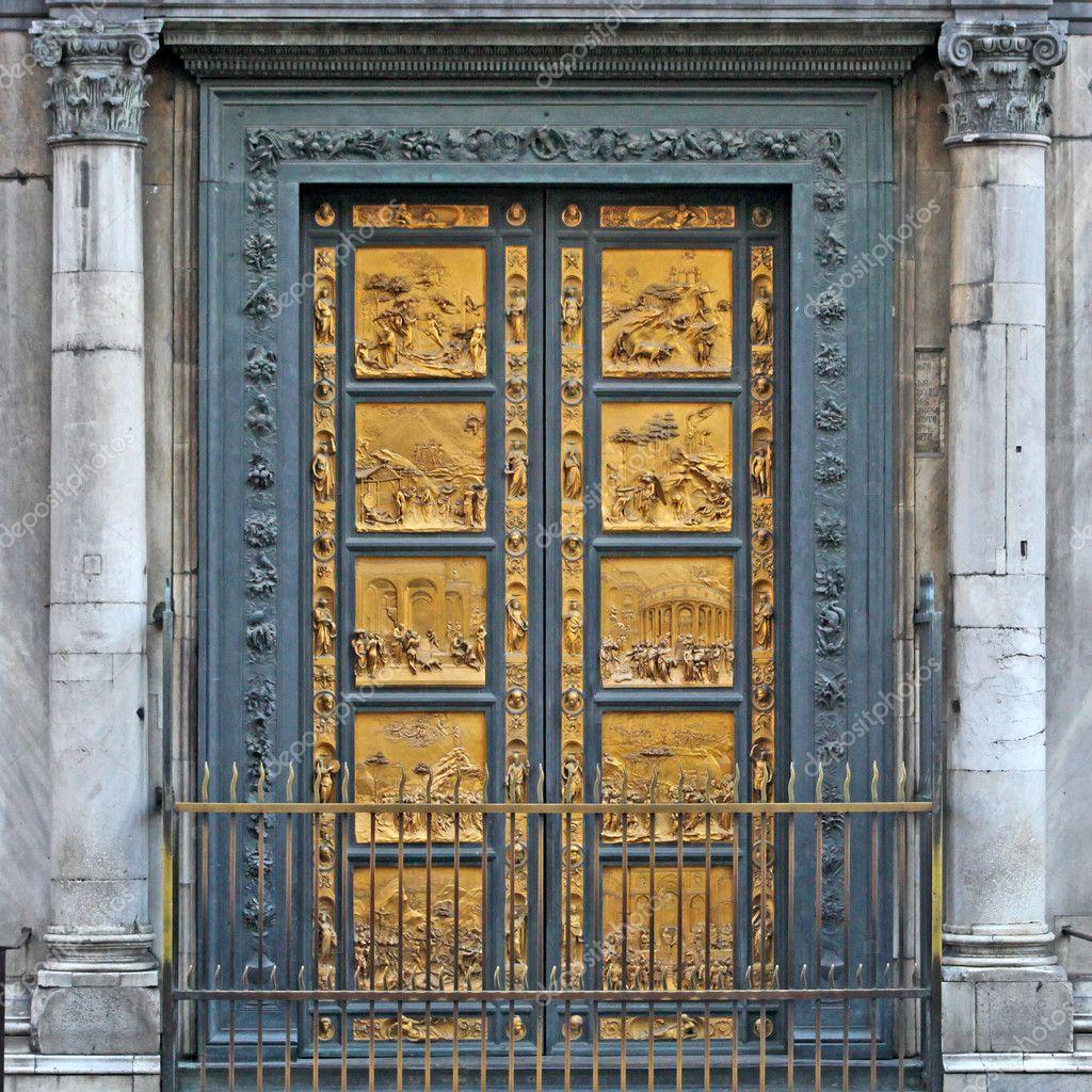 Pic Source \\\\u0026 Duomo Baptistry Doors Pezcame.Com & Golden Doors Florence \u0026 The Gate Of Paradise Golden Door Of ... Pezcame.Com