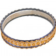 Bangle, Indian bracelets isolated on the white background - 图库照片