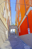 Streets of beautiful city of Trieste, Italy — Stock Photo