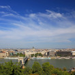 View of the Budapest, Hungary - Lizenzfreies Foto