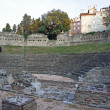 Roman Theater in Trieste, Italy - Stock fotografie